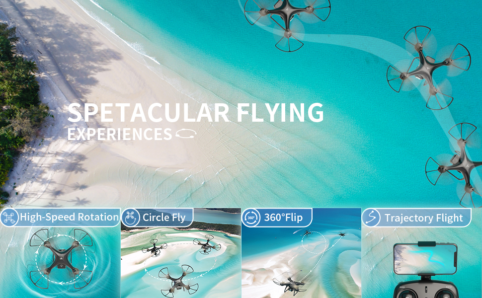 Spetecular flying experience