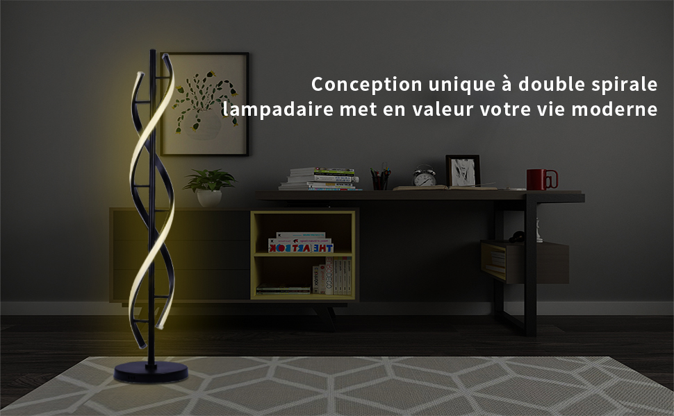 Moderne Lampadaire