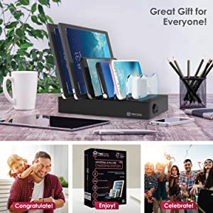 multiple usb charger station dock organizer smart multi device usb charging stations cellphone hubs