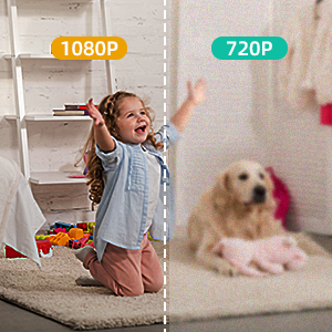 Portable Tiny Nanny Cam with Night Vision Motion Detection