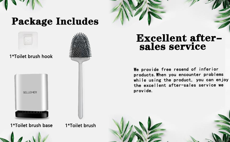 Kreative Silikon-Toilettenb/ürste mit Halter Flexibles Badezimmer-Toilettensch/üssel-Reinigungsb/ürstenset Tiefenreinigungs- und Schnelltrocknungsb/ürste Gr/ün Silicone Flex Toilet Brush