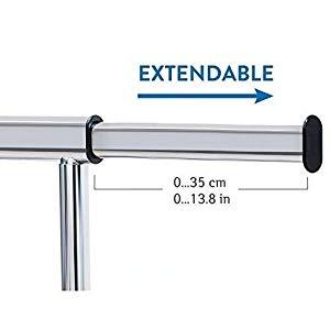 portant cintre extensible tringle barre telescopique retractable compact penderie reglable ajustable