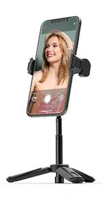 BlitzWolf Cell Phone Tripod for Webcam DSLR Camera Ring Light