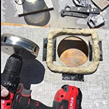 Diamond Hole saw Water Cement Board
