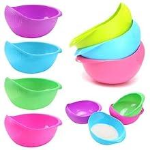 multicolor rice bowl