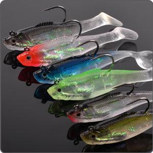 6 Colors Soft Fishing Lure Jigs