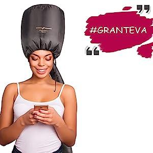granteva soft bonnet hair dryer attachment