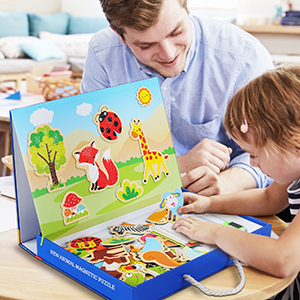 Animal jigsaw puzzles for kids ages 2-4