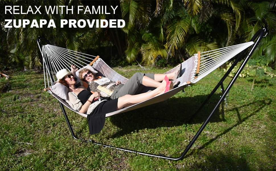 zupapa hammock with stand