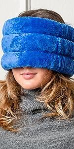 huggaroo head and sinus wrap microwavable heat pad