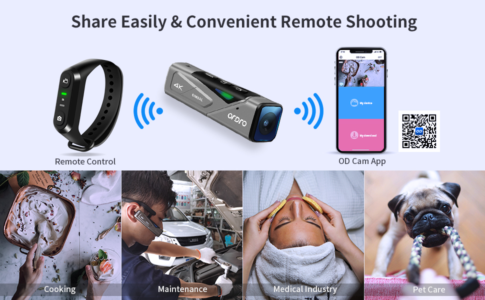 remote control and app