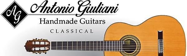 Antonio Giuliani Classical Guitar Logo