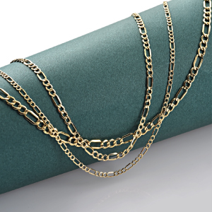 Jewelry Atelier Gold Filled Figaro Chain