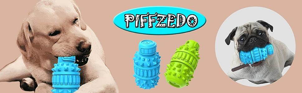 PIFFZEDO Dog Teething Vocal Toys Dog Chew Toys