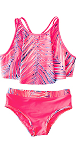 Toddler Girls Bathing Suits Size 2T to 6X