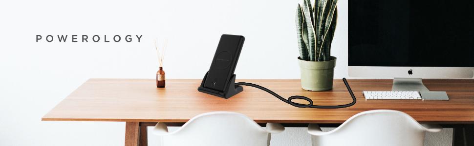 2 in 1 wireless powerbank