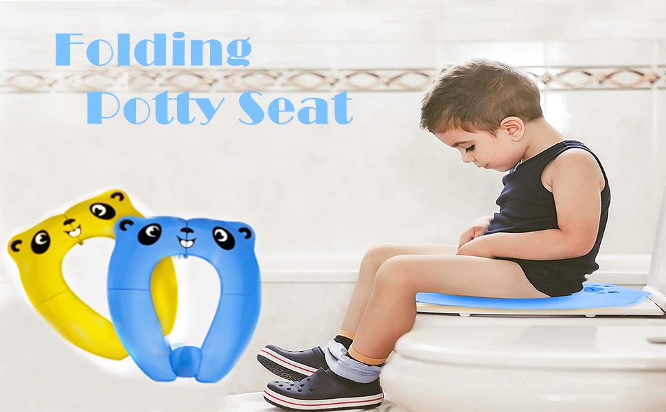 folding potty seat