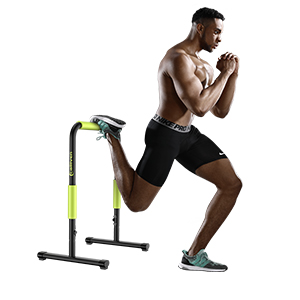 exercise with dip stand station