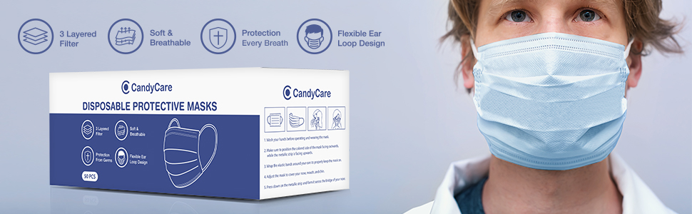 CandyCare Protective Mask
