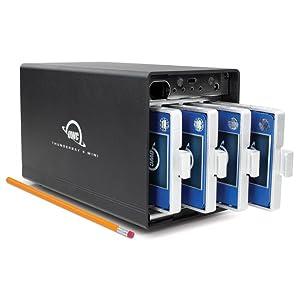 OWC,Other Wold Computing,ThunderBay 4 mini,サンダーベイ 4 ミニ,4ドライブベイ,Thunderbolt 3,サンダーボルト3,外付けhdd ケース,
