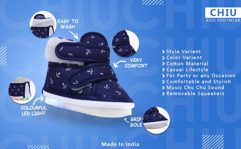 Anchor Print Shoe