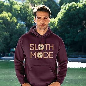 UGP Campus Apparel Underground Printing Tshirt Hoodie Sloth Mode