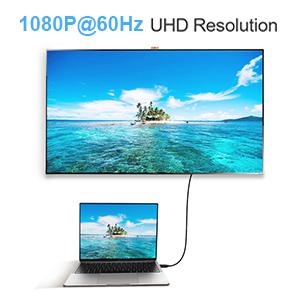 1080P 60Hz Resolution