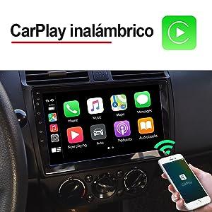 Carlinkit inalambrico CarPlay/Wired Android Auto Dongle para Radio de automóvil con Unidad Principal de Android, instale la aplicación Autokit en el ...