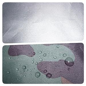 silver coated waterproof