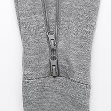 double zipper design baby pajamas footie