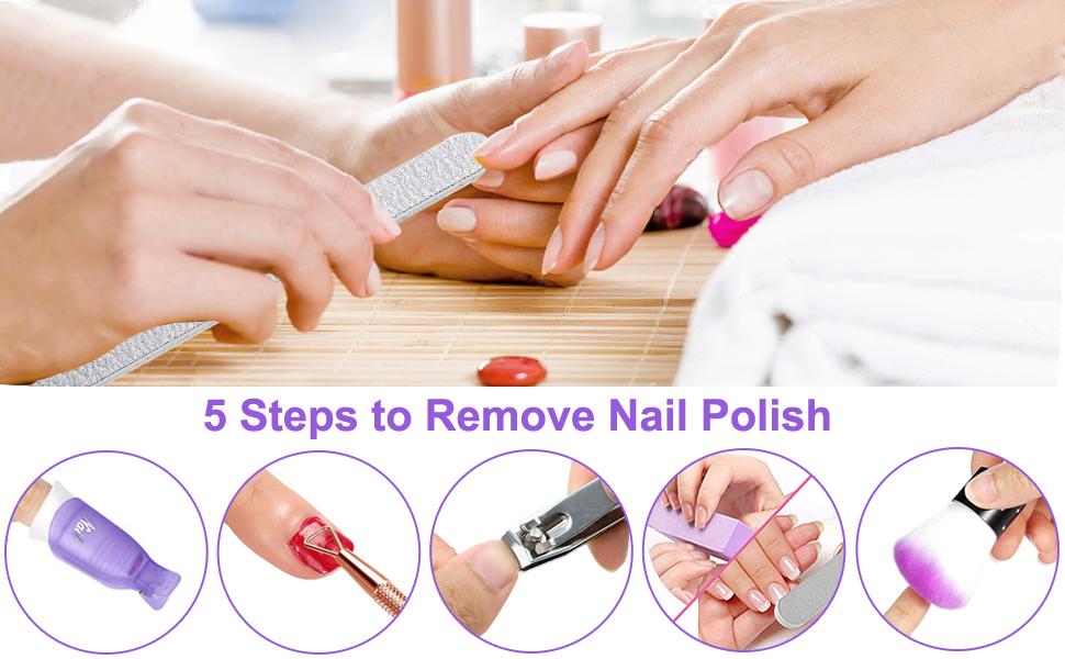 nail polsh remover kit