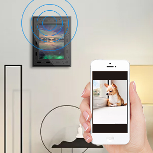 hidden camera frame with alarms,instant alert frame camera,hidden camera wifi frame,camera hidden