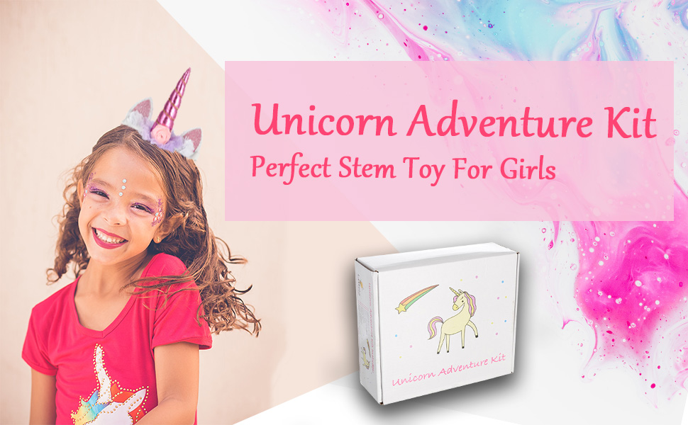 Unicorn Gifts for Girls STEM Toy Girls Toys Kids Activity Kits Girls Learning Toys Outdoor Toys