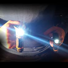 Knuckle Lights have 2 units that connect magnetically