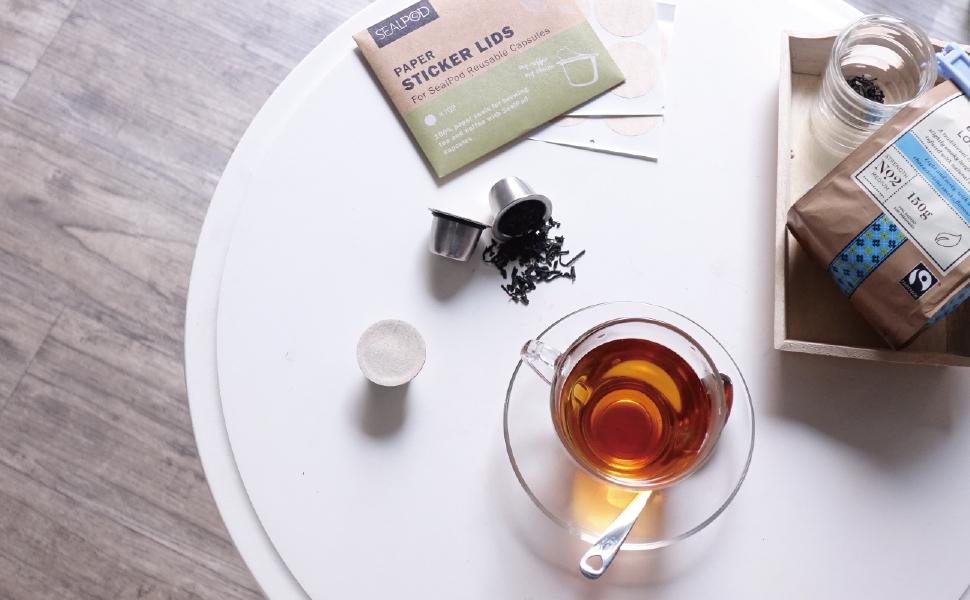 Nespresso Reusable Capsule's Paper Filter Lids