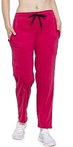 UZARUS Women's Regular Fit Trackpants