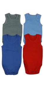 boy's tank top bodysuit onesies