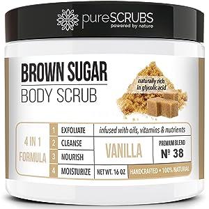 Vanilla Brown Sugar Face and Body Scrub