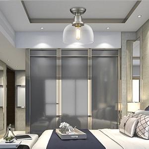Flush mount ceiling light for bedroom
