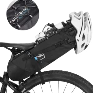 SAHOO Bicycle Saddle Tail Bag waterproof Seat Post Storage Pack Bike Rear Bag