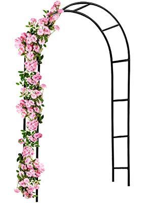 Deuba Arco Decorativo para Rosales y Plantas trepadoras de Metal ...