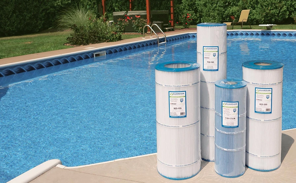 Guardian Filtration Pool Filters | Indoor Outdoor Pool, Spa and Hot tub Filtration | Filter Deals