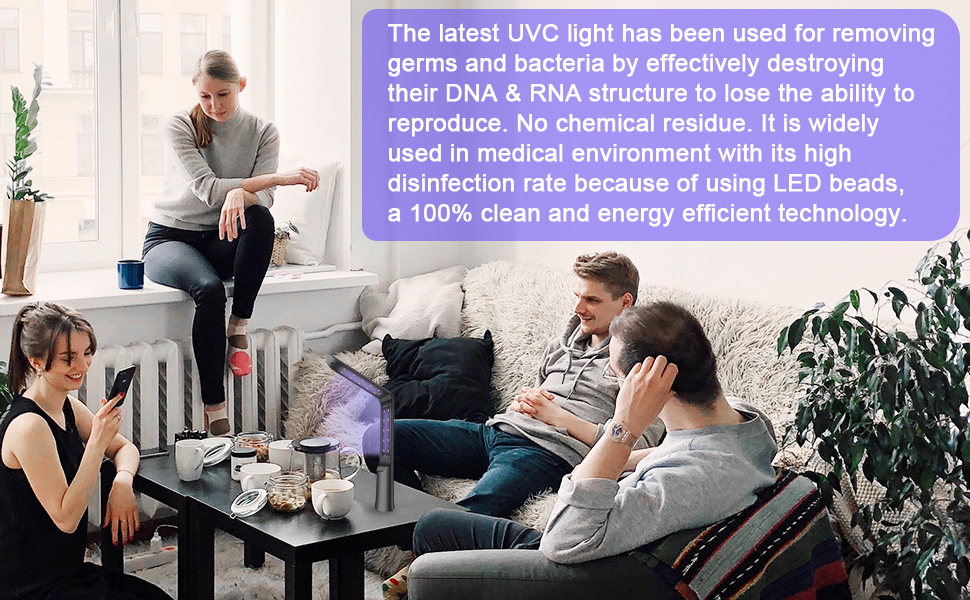 UV Light Sanitizer Wand
