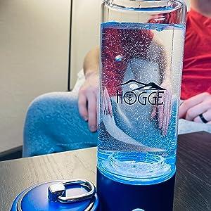 HOGGE Hydrogen water bottle alkaline water ionizer water bottle ionbottle hydrogen bottle sports