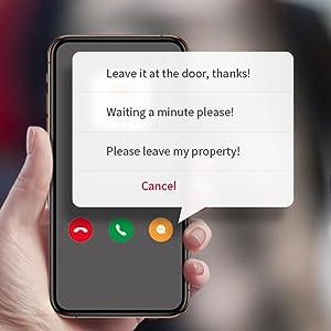 33_HMB1 doorbell camera_voice message prerecorded