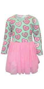 Candy Hearts Boys Shirt Polo Valentine's Day