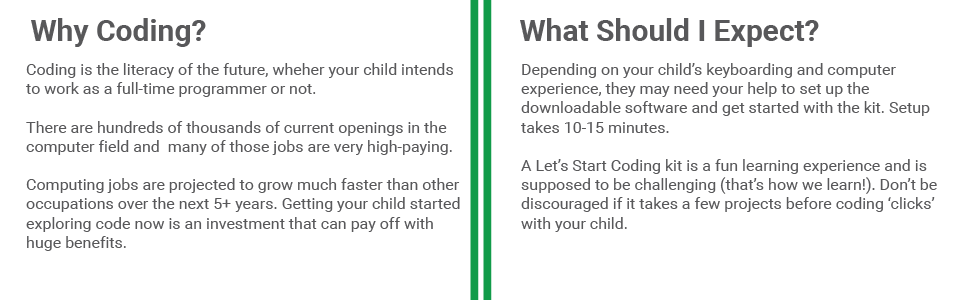 Coding is a fun skill, but it's challenging! Help your child succeed with your support as they learn