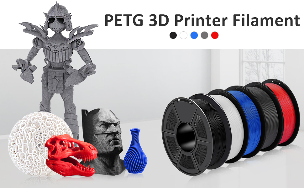 petg 3d printer filament 1.75mm SUNLU