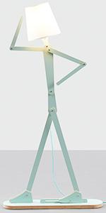 Green Floor Lamp