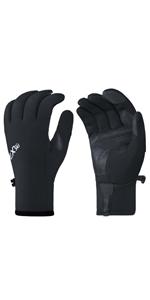 mens touchscreen hiking gloves